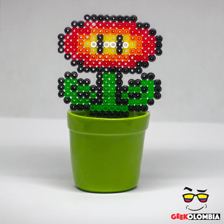 Planta De Flor De Fuego En Mario Bros